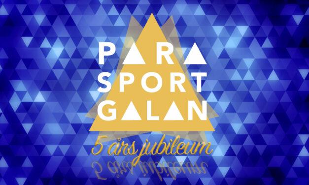 Svenska Parasportgalan 2021